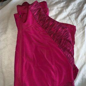 Tops - Pink quarter zip